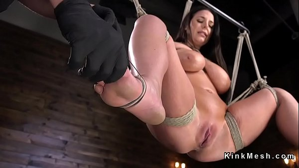 Caning, Slave, Caned, Monster tits