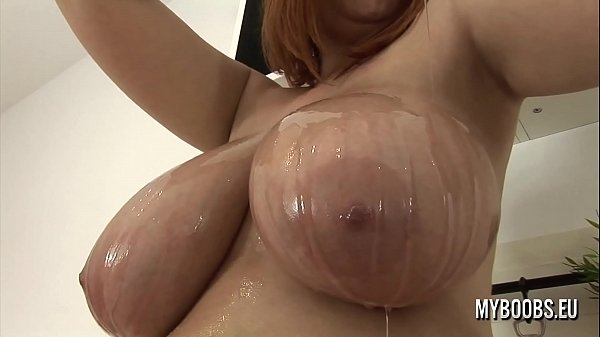 Huge pussy, Oiled