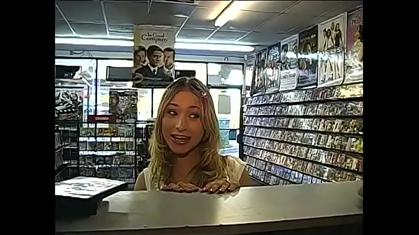 Shop, Young couple, Hot movie