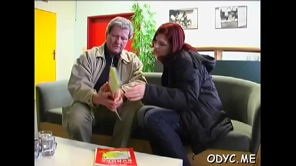Old young, Amateur blowjob