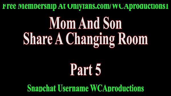 Mom and son, Son and mom, Changing, Changing room, Change room